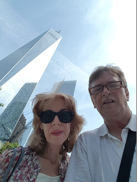 Carmel & Terry at Ground Zero
