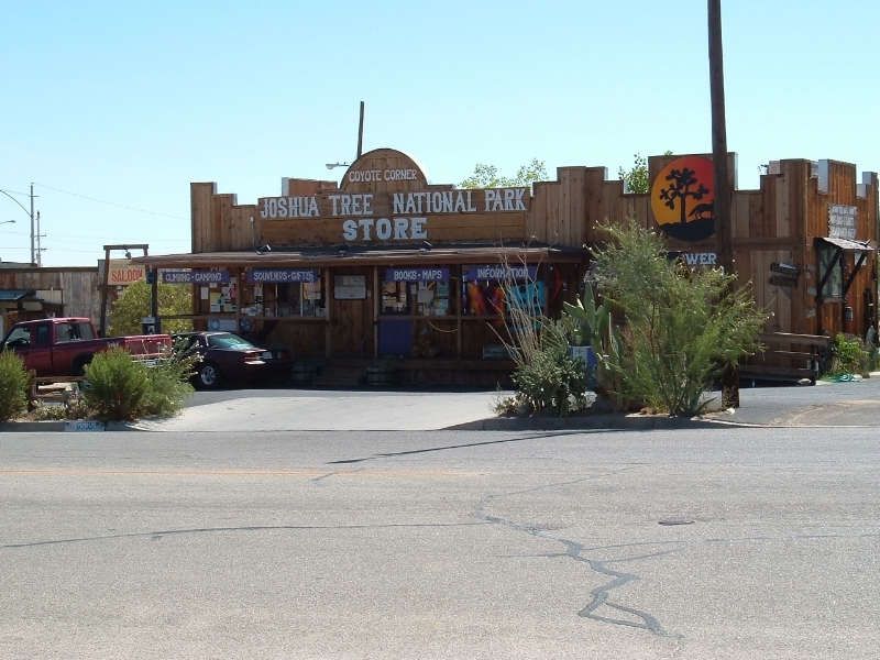 Joshua Tree National Park, Yucca Valley, California - Store Front