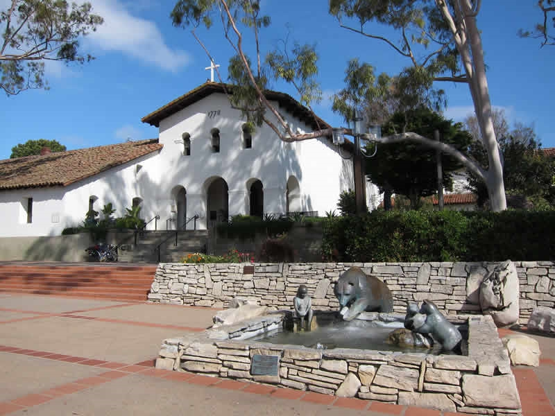 Pacific Coast Highway - The Old Spanish Mission at San Louis Obisipo