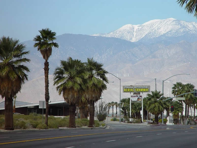 Palm Springs California -Aerial Tramway
