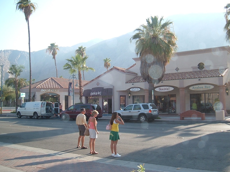 Palm Springs California - Palm Canyon Drive, Palm Springs
