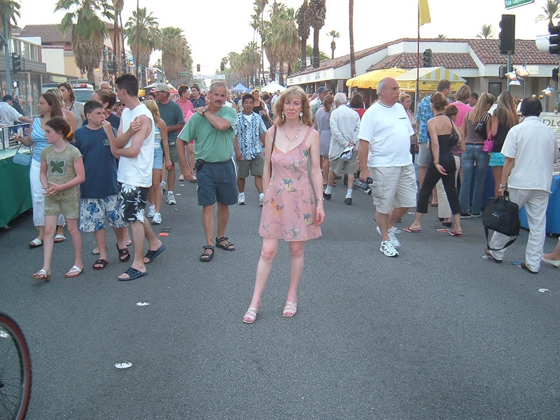 Palm Springs California - Carmel at the Palm Springs Village Fest