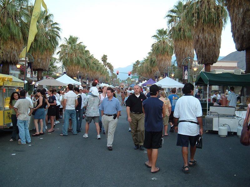 Palm Springs California - Palm Springs Village Fest, Palm Canyon Drive