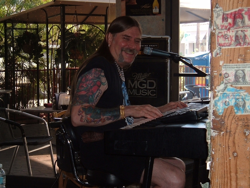 Palm Springs California - Ron James performing in the Village Pub