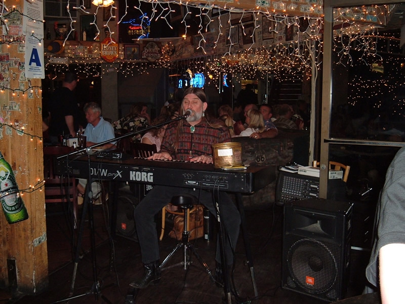 Palm Springs California - Ron James in the Village Pub
