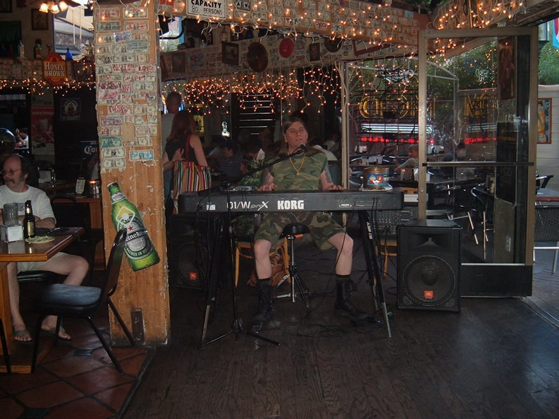 Palm Springs California - Ron James afternoon performance in the Village Pub